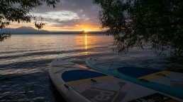 Lake Taupo sunrise
