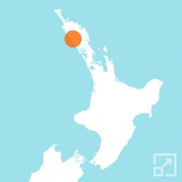 Kai Iwi Lakes map marker