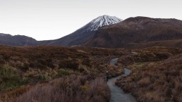 Heading towards Mount Ngauruhoe