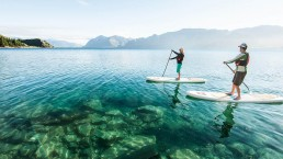 Paddleboarding on Lake Wanaka: Photo Paddle Wanaka