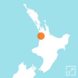 Raglan map marker