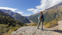 Routeburn Falls lookout