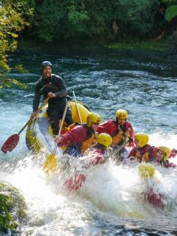 Kaitiaki rafting