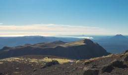 Mount Tarawera view