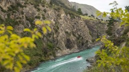Hanmer Springs jet boat - Photo: Graeme Murray