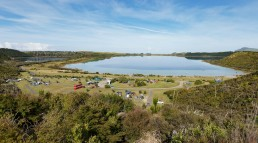 Kai Iwi Lake, Pine Beach Campground - Northland