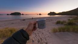 Hahei Beach sunrise