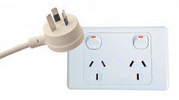 New Zealand plug and socket